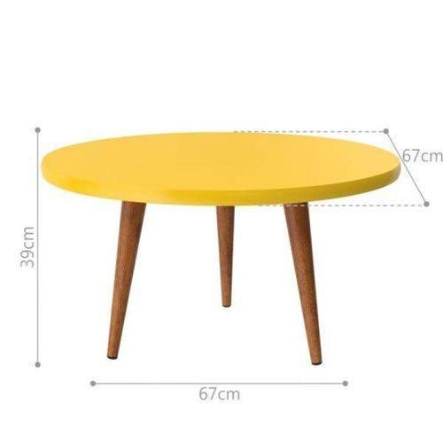 Mesa de Centro Legs - Amarelo