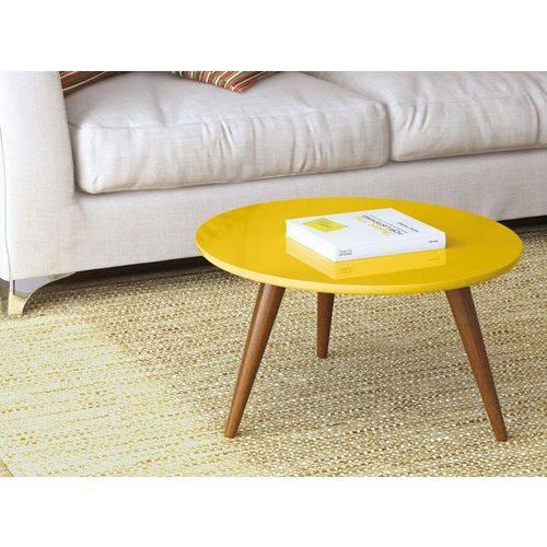 Mesa de Centro Sorelle (retrô) Amarelo - Hb Móveis