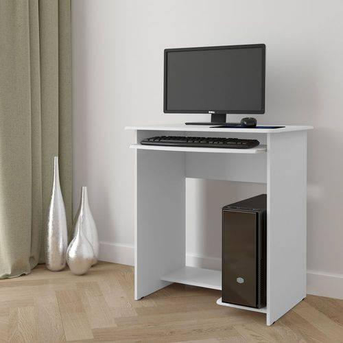 Mesa de Computador Prática - Branco