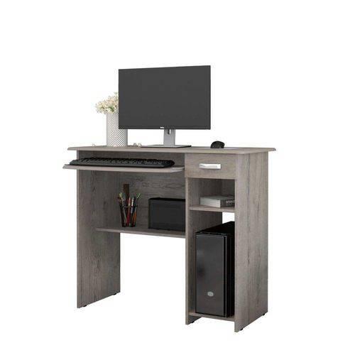 Mesa de Computador Viena com 1 Gaveta Carvalho Ej Móveis