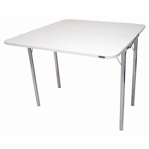 Mesa de Cozinha Dobrável 24920317 Branco/cromado 2v - Carraro
