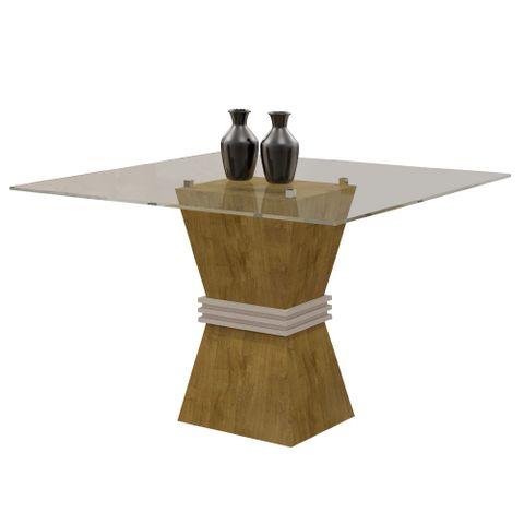 Mesa de Jantar Vitória para 4 Lugares 100cm - Ypê