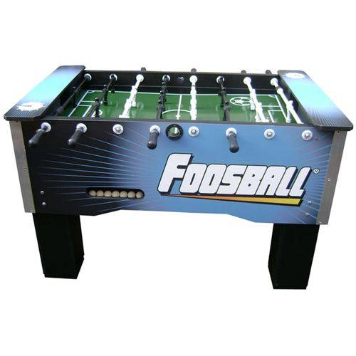 Mesa de Pebolim Foosball Embutido Alumínio - Corporativo