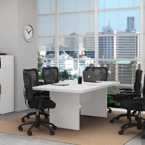 Mesa de Reunião Tecno Mobili - Branco