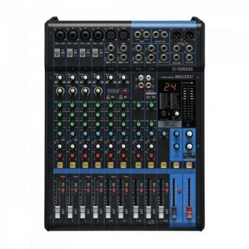 Mesa de Som Analógica 12 Canais Mg12xu Yamaha