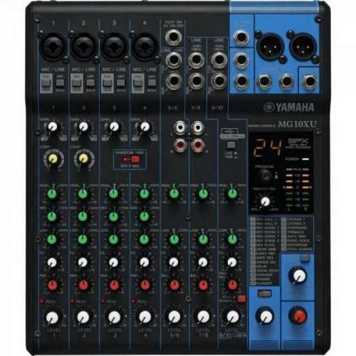 Mesa de Som Analógica 10 Canais Mg10xu Yamaha