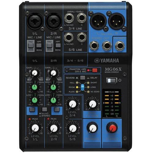 Mesa de Som Mixing Mg06x Yamaha