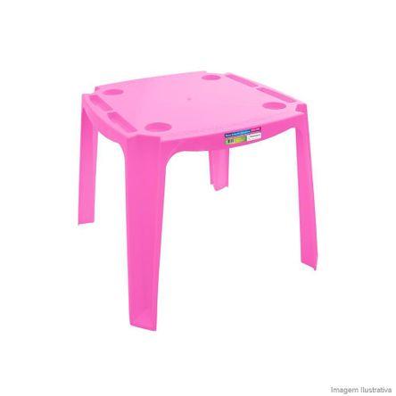 Mesa Educativa Infantil Rosa Paramount Plásticos