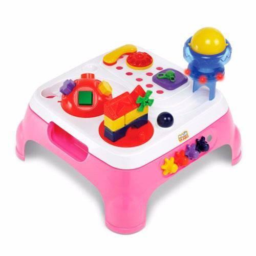 Mesa Infantil Maxi Atividades Rosa 1070L - Magic Toys