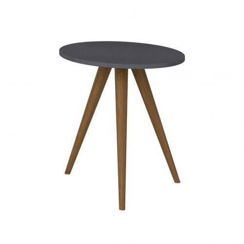 Mesa Lateral 500 Retrô-espresso - Be Mobiliário