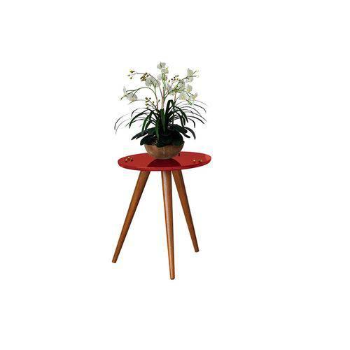 Mesa Lateral Sorelle - Vermelho - Hb Móveis