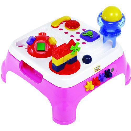 Mesa Maxi com Som Rosa Magic Toys