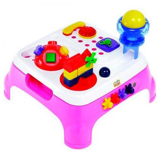 Mesa Maxi com Som Rosa - Magic Toys
