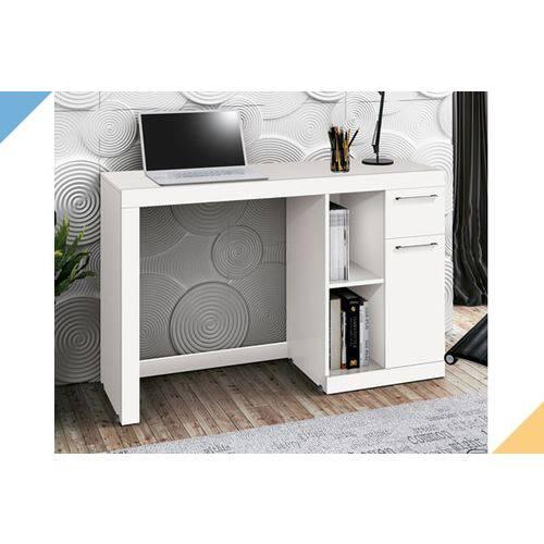 Mesa Office Doris - Branco - EDN Móveis