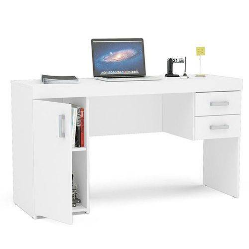 Mesa para Computador 1 Porta 2 Gavetas Miranda Politorno
