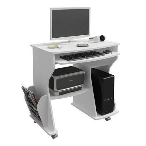 Mesa para Computador 160 Branco Artely