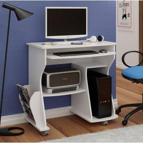 Mesa para Computador 160 Cm Artely Branco