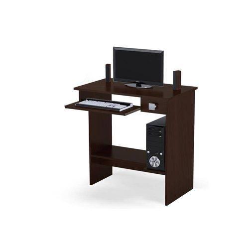 Mesa para Computador Ajl Imbuia - Ajl Móveis