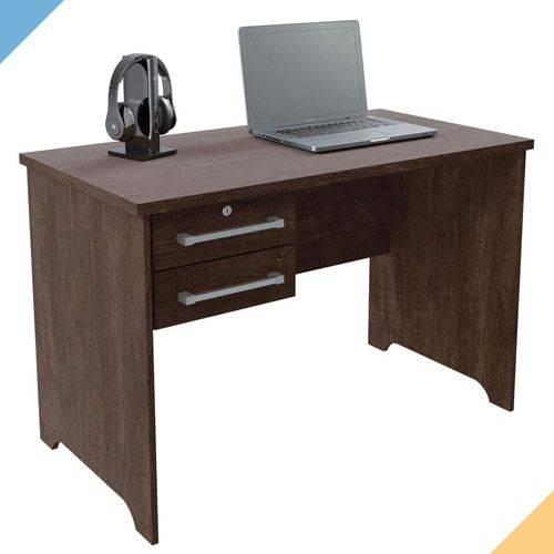 Mesa para Computador Alemanha - Noce - RV Móveis
