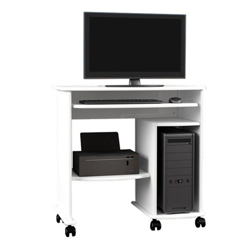 Mesa para Computador C211 - Branco Brilho