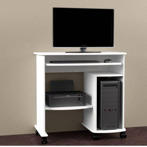 Mesa para Computador com Rodízios 100% Mdf C211 Dalla Costa