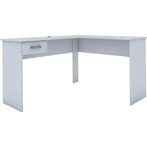 Mesa para Computador Fênix 1 Gaveta Branco - Politorno