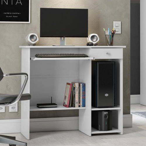 Mesa para Computador Marina - Branco - Patrimar Móveis
