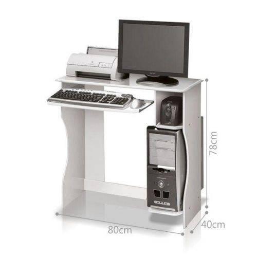 Mesa para Computador Office Livia - Branco