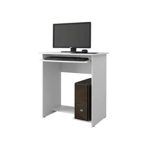 Mesa para Computador Pratica Branco - Ej Móveis