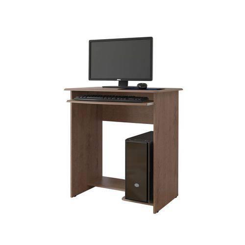 Mesa para Computador Pratica Castanho - Ej Móveis