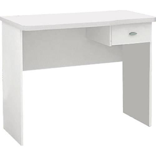 Mesa para Computador Resende 1 Gaveta Branca - Politorno
