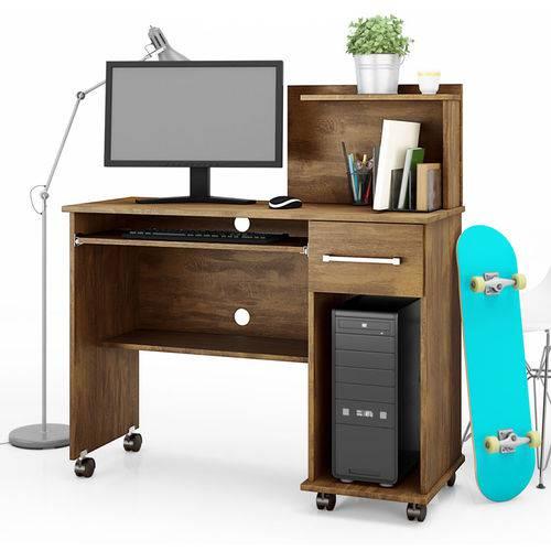 Mesa para Computador Studio - Lukaliam Móveis - Canela