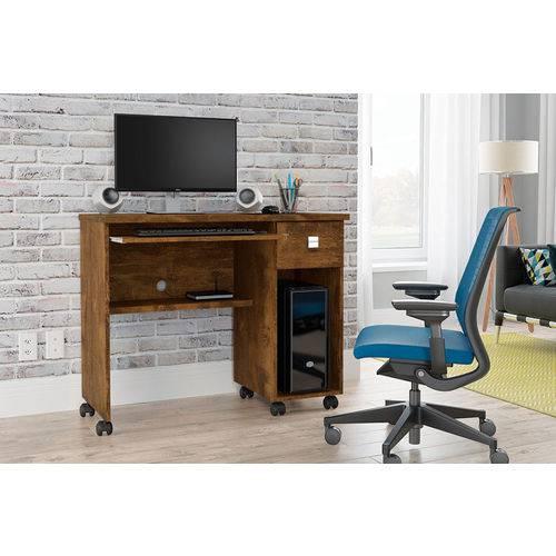 Mesa para Computador Vicenza - Lukaliam Móveis - Canela
