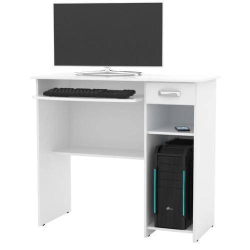 Mesa para Computador Viena - Branco - Ej Móveis