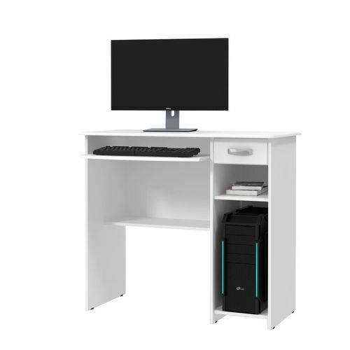 Mesa para Computador Viena Branco - Ej Móveis