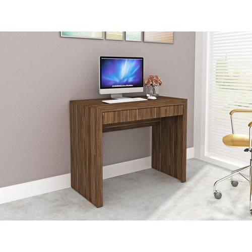 Mesa para Escritório 1 Gaveta ME4107 Tecno Mobili Nogal