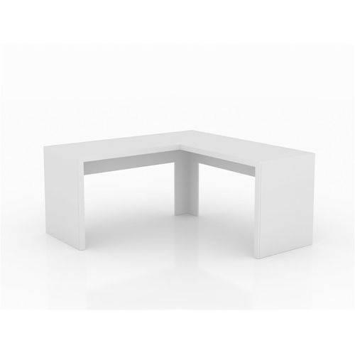Mesa para Escritório Angular Tecno Mobili ME4116 Branco