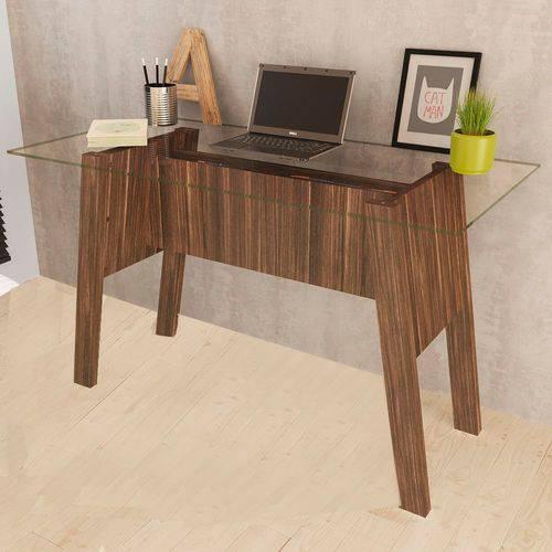 Mesa para Escritório Me4134 Nogal - Tecno Mobili