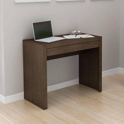 Mesa para Escritrio 1 Gaveta Me4107 Tecno Mobili | Cor: Tabaco