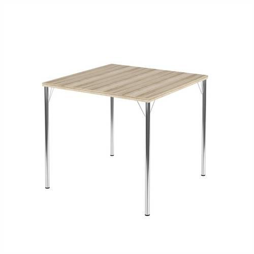 Mesa para Sala de Jantar Anis Cromado 1545 Carraro