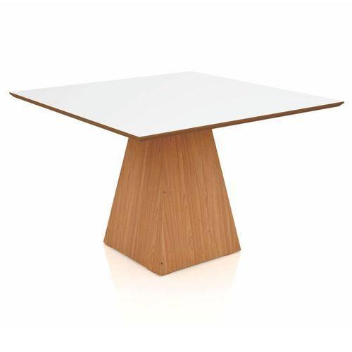 Mesa para Sala de Jantar Tm59 120cm Freijó/off White - Dalla Costa