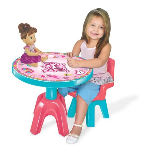 Mesinha e Cadeira Baby Alive Líder
