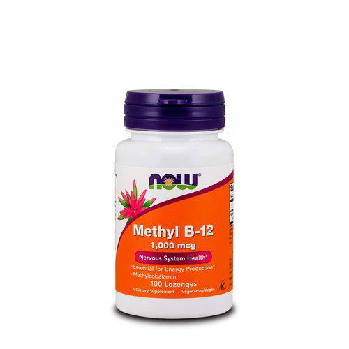 Methyl B-12 1000mcg (100 Loz) Now Foods