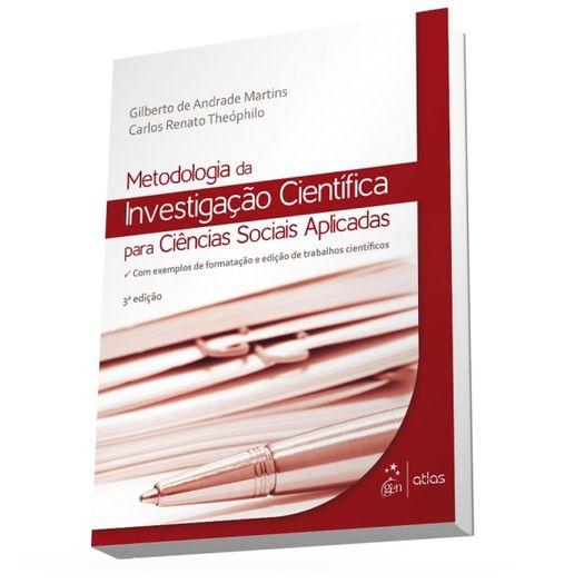 Metodologia da Investigacao Cientifica para Ciencias Sociais Aplicadas - Atlas
