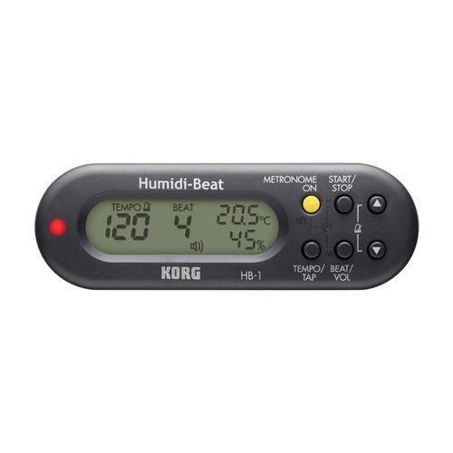 Metrônomo Digital Korg - Humidi-Beat Hb-1-Bk