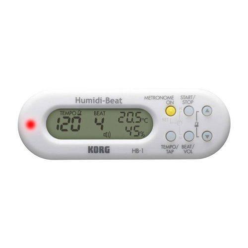 Metrônomo Digital Korg - Humidi-Beat Hb-1-Wh