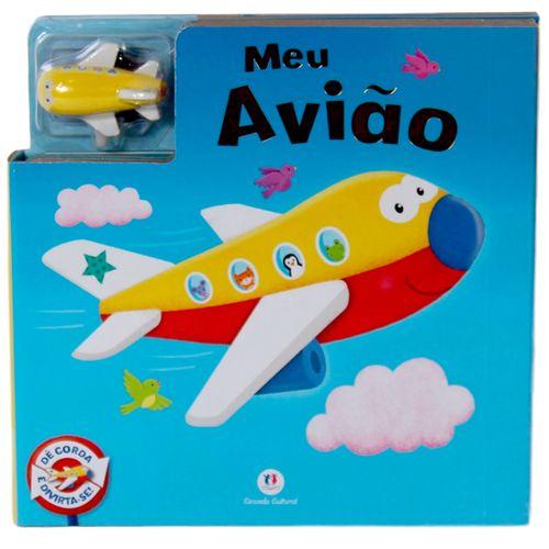 Meu Avião: Dê Corda e Divirta-se - Coleção para Ler e Brincar