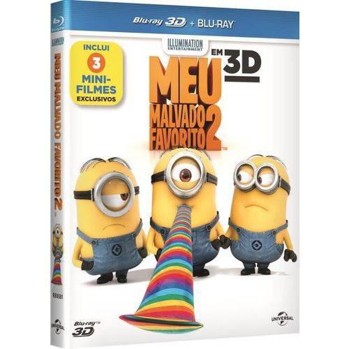 Meu Malvado Favorito 2 - Inclui 3 Mini-filmes - Blu-ray 3D + Blu-ray