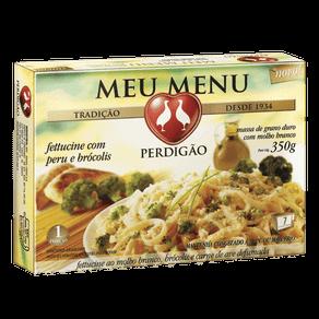 Meu Menu Perdigão Fettucine com Peru e Brócolis 350g