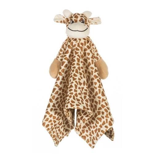 Meu Naninha Girafinha Sonho de Luz Marrom / Bege Único